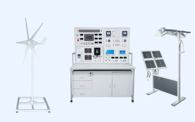 CNC-101 Solar & Wind Hybrid Power Generation Trainer